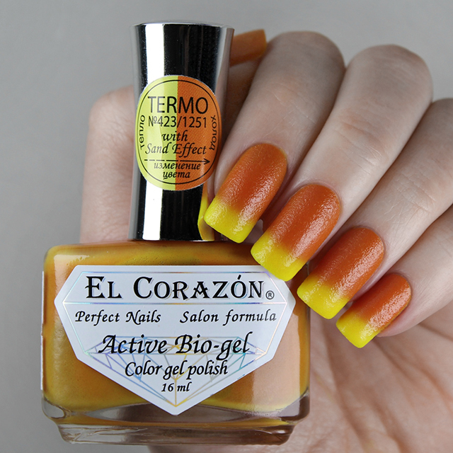 EL Corazon Active Bio-gel Color gel polish Termo 423/1251
