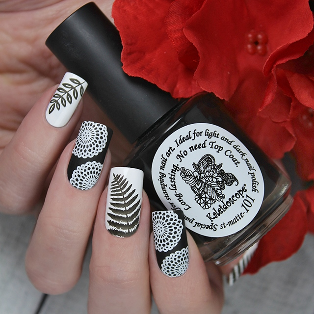 EL Corazon Kaleidoscope Special paint for stamping nail art st-matte-101