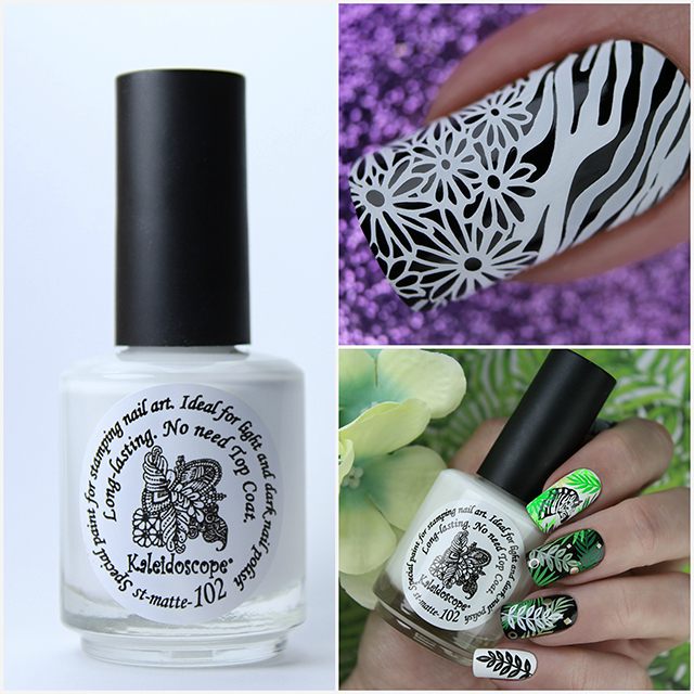 EL Corazon Kaleidoscope Special paint for stamping nail art st-matte-102