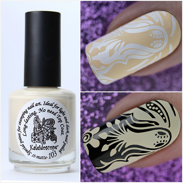 EL Corazon Kaleidoscope Special paint for stamping nail art st-matte-103