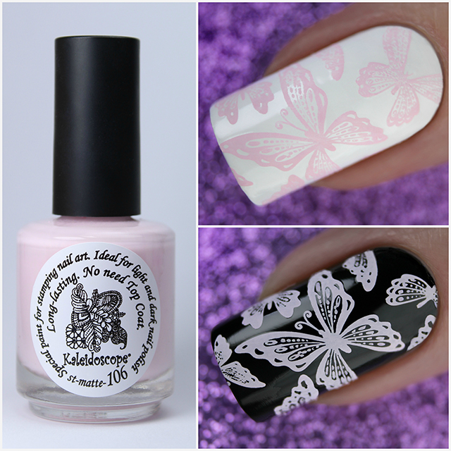EL Corazon Kaleidoscope Special paint for stamping nail art st-matte-106