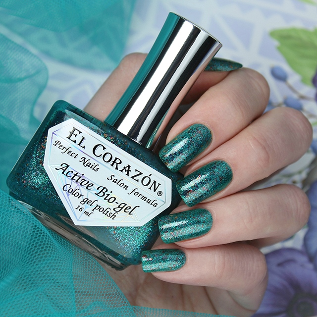 EL Corazon Active Bio-gel Color gel polish Star baths 423/1186